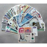 Billete Lote 54 Billetes Mundiales Coleccion (cgy89 ) - Vp