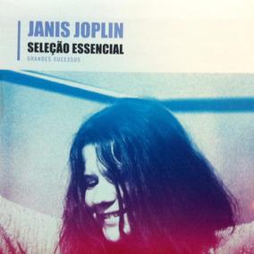 Cd Janis Joplin - Seleção Essencial - Original Lacrado