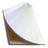 Zoclo Curva Sanitaria Pvc Blanco (4 Piezas De 2.44mts)