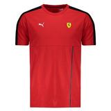 Camiseta Puma Scuderia Ferrari T7 Vermelha