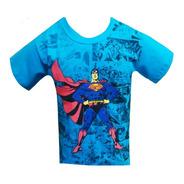 Kit 6 Camiseta Camisa Juvenil Masculino Personagens Herois