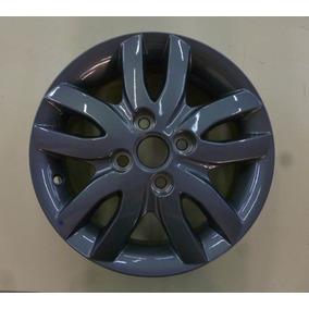 Roda Alumínio Cinza Aro 14 Original Gm Onix Novo Prisma