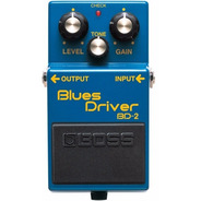 Pedal Boss Blues Driver Bd2 Guitarra Distorção Overdrive