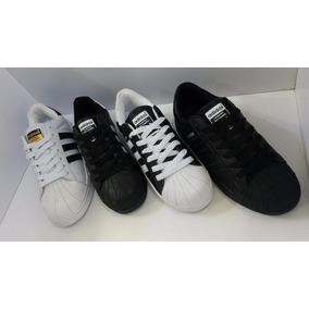 Zapatos adidas Superstar, Unisex, Tallas 35-45, 4 Diseños.