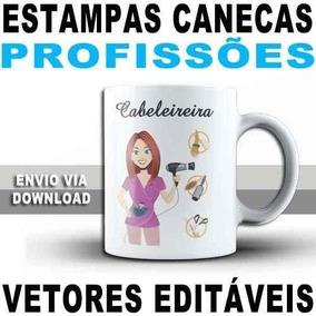 Estampas Caneca Sublimação Vetores 4.000 Artes Corel E Png