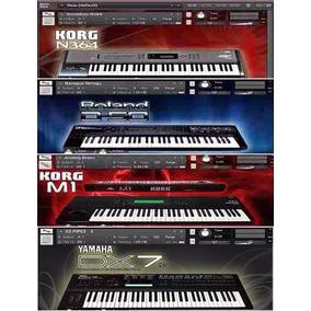 Korg M1 Korg N364 Roland D50 Y Yamaha Dx7 Kontakt