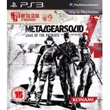 Metal Gear Solid4 Guns Of The Patriots // Ps3