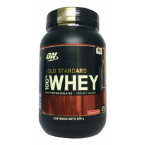 Proteina Gold Standard 100% Whey 2 Lb Sabor Chocolate