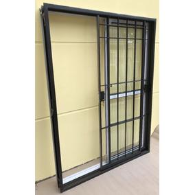 Aberturas puertas exteriores hierro corredizas en bs as g for Puertas corredizas de metal