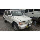 Kia Sportage 2000 Diesel Para Retirada De Peças