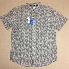 Adidas Kanji - Camisa Casual no Mercado Livre Brasil 2fadfe1750d7b