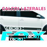 Calco Vw Fox Lateral