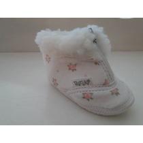 Calzado Bebé - Botita Para Nena No Caminante