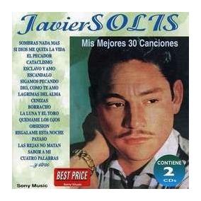Cd Javier Solis Mis 30 Mejores Canciones 2cds Open Music