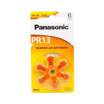 Pilha Bateria Aparelho Auditivo - Panasonic Pr13