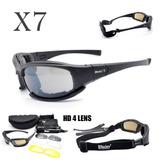 Óculos Militar Polarizado Daisy X7 Original Visão Noturna