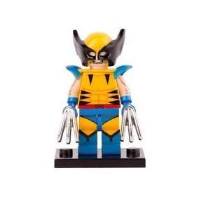 Minifigure Wolverine 3 ( Compatível Com Lego )