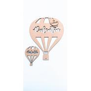 Cartel Nacimiento Kit 1 Gde 20cm + 30 Souvenirs 6cm - Mdf