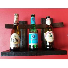 Cuadro Con Botellitas De Cervezas Importadas