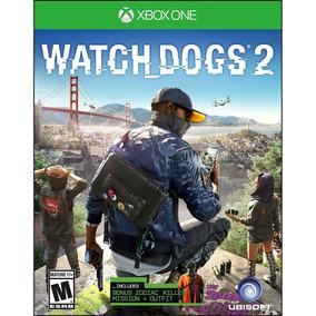 Watch Dogs 2 Xbox One Mídia Física Lacrado