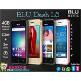 Teléfono Blu Dash L3 Doble Línea Liberado 4gb