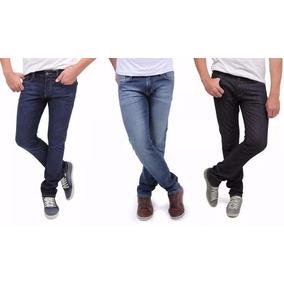 Kit Com 20 Calças Jeans Masculina Slim Skinny Tommy Armani