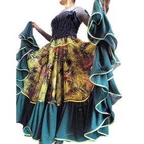 Conjunto Saia + Mangas-eventos-trajes-fantasia-danças-cigana
