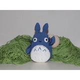 Amigurumi - Mi Vecino Totoro - Chu-totoro (azul) + Bolsa
