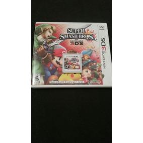 Juego Fisico Super Smash Bros 3ds