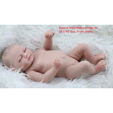Bebe Reborn Menina 28 Cm Mini Olhos Fechados Frete Gratis