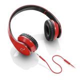 Fone De Ouvido Com Microfone Pc Celular Vermelho Ph112