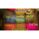 Hilo Sisal Colores .pack X 10 Ovillos Surtidos Aproveche !