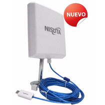 Antena Wifi Exterior Cpe330 12dbi Cable 9.5m 3watts 300mbps