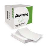 Formulario Continuo 1 Via Microserrilhado 80 Col - Maxprint