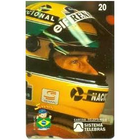 Cartões Telefônicos Raríssimos Da Coleção Ayrton Senna