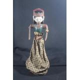 Boneca Antiga Tailandesa Em Madeira Articulada