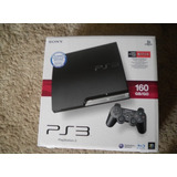 Ps3 Slim 160gb - Control - 3d - Impecable - 2 Juegos