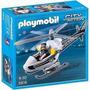 Playmobil 5916 - Helicóptero De Policía