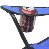 Kit X 2 Cadeiras Camping Dobravel Praia Pesca P/ Lata Bolsa