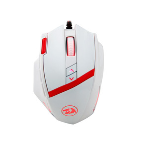 Mouse Gamer Redragon M801 Mammoth 16400 Dpi Laser Blanco Usb