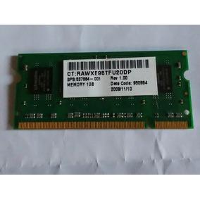 Memoria Ram 1gb 1rx8 Pc2-6400s-666-12-b2 Kingston Laptop