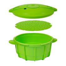 Panela De Pressão Para Microondas Easy Cooker 2,5l - Verde