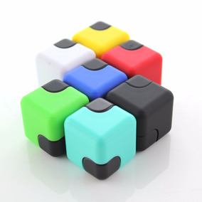 Spinner Cubo Spin Cube Plastico Abs Colores Antiestres