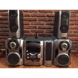 Minicomponente Sony Hcd Dx8+amplificador+woofers+parlantes