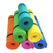 Mat Yoga Pilates Colchoneta Goma Eva 160x57cm X 6mm Ideal
