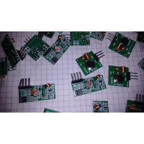 Transmisor Y Receptor 433 Mhz Radiofrecuencia Inalambrico