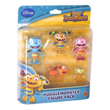Henry El Monstruito Set Con 5 Figuras Original Disney
