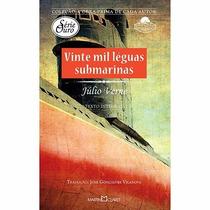 Livro Vinte Mil Léguas Submarinas - Julio Verne - Lacrado