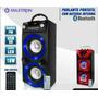 Equipo De Sonidoportátil Bluetooth,usb,tarjeta Sd Bateria
