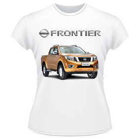 Baby Look Carro Nissan Frontier Pickup 4x4 Camisa